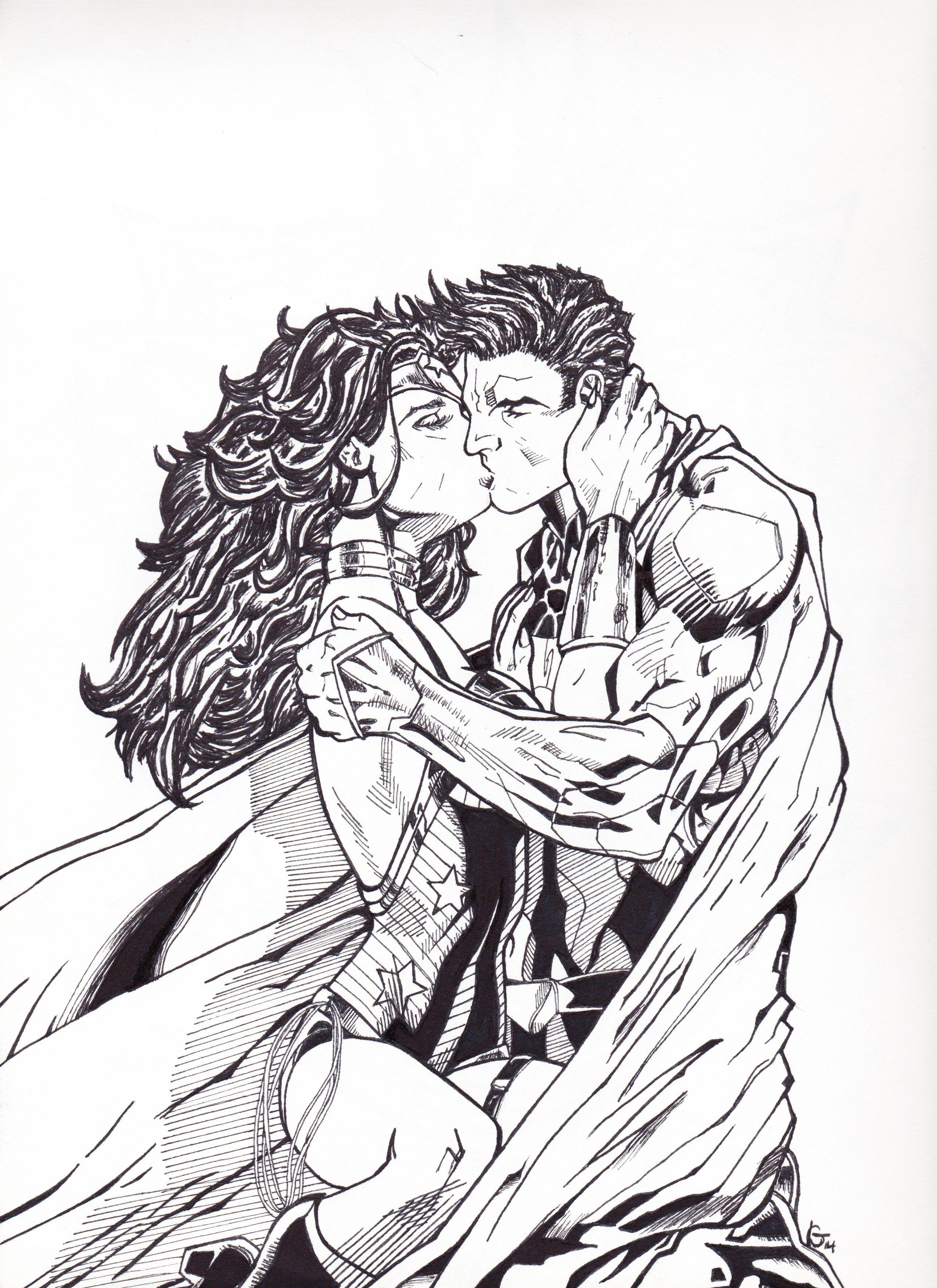 Wonder Woman Superman Les Folies De Lysandre